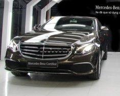 Cần bán lại xe Mercedes E200 đời 2017, màu nâu   giá 1 tỷ 960 tr tại Hà Nội