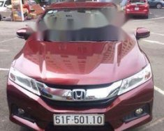 Bán xe Honda City đời 2015, màu đỏ chính chủ, 495tr giá 495 triệu tại Tp.HCM
