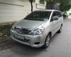 Bán Toyota Innova G năm 2008, màu bạc xe gia đình, giá chỉ 375 triệu giá 375 triệu tại Hà Nội