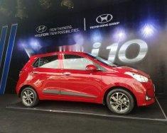 Cần bán Hyundai Grand i10 1.2AT năm 2018, màu đỏ, giá tốt giá 400 triệu tại Tp.HCM