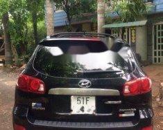 Cần bán Hyundai Santa Fe đời 2008, màu đen, 490tr giá 490 triệu tại Tp.HCM