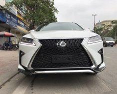 Bán Lexus RX Rx 350 F-Sport đời 2018, màu trắng, nhập khẩu Mỹ giá 3 tỷ 456 tr tại Hà Nội