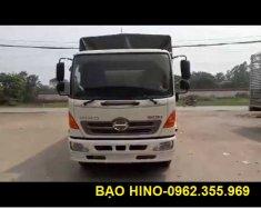 Bán xe Hino 10.4 tấn mui bạt 6.8m Euro4, KM 500L dầu + 18tr, phí trước bạ giá 870 triệu tại Hà Nội