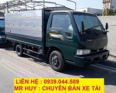 Bán xe tải Kia K165 thùng mui bạc, tải trọng 2 tấn 4 chạy thành phố Hồ Chí Minh giá 334 triệu tại Tp.HCM