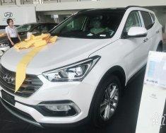 Bán Hyundai Santa Fe sản xuất 2018, màu trắng giá 1 tỷ 90 tr tại Tp.HCM