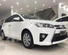 Cần bán gấp Toyota Yaris 1.3G năm 2016, màu trắng, nhập khẩu Thái giá 620 triệu tại Hà Nội