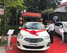 Bán xe Mitsubishi Attrage CVT màu trắng giá tốt, hỗ trợ trả góp 80%, khuyến mãi phụ kiện, liên hệ 0911821507 giá 505 triệu tại Quảng Bình