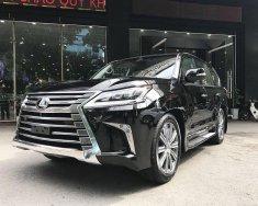 Bán Lexus LX Lx 570 Trung Đông sản xuất năm 2018, màu đen, nhập khẩu nguyên chiếc giá 5 tỷ 678 tr tại Hà Nội