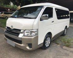 Bán Toyota Hiace 3.0 máy dầu 2017, nhập nhật, màu trắng còn rất mới giá 912 triệu tại Tp.HCM
