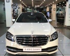 Bán ô tô Mercedes S450L Luxury sản xuất 2018, màu trắng giá 4 tỷ 759 tr tại Hà Nội