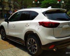 Bán Mazda CX 5 2.0 AT đời 2016, màu trắng giá cạnh tranh giá 810 triệu tại Hải Phòng