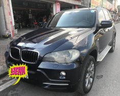 Bán xe BMW X5 3.0 máy dầu đời 2007, màu đen, xe nhập giá 660 triệu tại Hà Nội