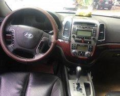 Bán xe Hyundai Santa Fe SLX đời 2009, màu đen, xe nhập   giá 675 triệu tại Hà Nội