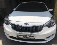 Bán Kia K3 1.6 AT sản xuất năm 2016, màu trắng số tự động, giá chỉ 555 triệu giá 555 triệu tại Hải Phòng