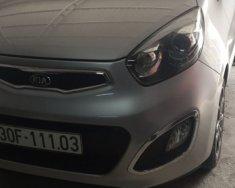 Bán ô tô Kia Picanto 1.25 AT sản xuất năm 2014, màu bạc, giá 340tr giá 340 triệu tại Hà Nội