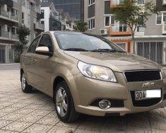 Cần bán Chevrolet Aveo LT 1.5 MT 2014, màu vàng cát, biển Hà Nội giá 298 triệu tại Hà Nội