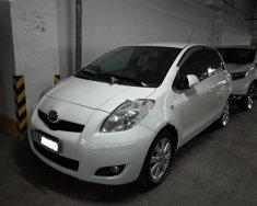 Bán Toyota Yaris đời 2010, màu trắng, nhập khẩu   giá 435 triệu tại Tp.HCM
