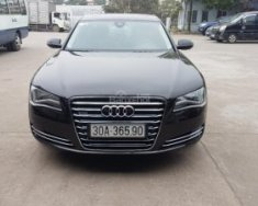 Tư nhân cần bán Audi A8 Long 2013, màu đen, nhập khẩu nguyên chiếc giá 2 tỷ 800 tr tại Hà Nội