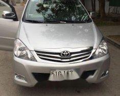Bán Toyota Innova sản xuất năm 2010, màu bạc   giá 400 triệu tại Bình Dương