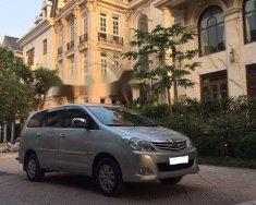 Chính chủ bán xe Toyota Innova G năm 2009, màu bạc giá 368 triệu tại Hà Nội