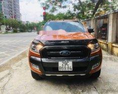 Bán xe Ford Ranger Wildtrak 3.2 AT 4x4 2017, màu vàng cam giá 890 triệu tại Hà Nội