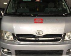 Cần bán xe Toyota Hiace MT đời 2008, màu bạc giá 350 triệu tại Hà Nội