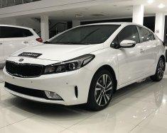 Bán xe Kia Cerato SMT, MT, AT sản xuất năm 2018, màu trắng giá 499 triệu tại Bắc Ninh