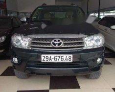 Bán Toyota Fortuner đời 2009, màu đen giá cạnh tranh giá 495 triệu tại Hà Nội