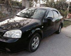 Cần bán gấp Daewoo Lacetti đời 2005, màu đen giá 154 triệu tại Nghệ An