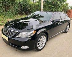 Bán ô tô Lexus LS 460 L sản xuất năm 2007, màu đen, nhập khẩu  giá 1 tỷ 380 tr tại Tp.HCM