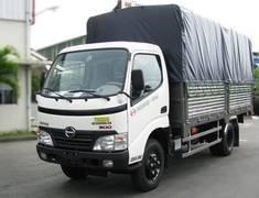 Bán xe tải HINO 1t9 / 1,9 tấn / 1.9 tấn thùng kín / thùng mui bạt giá 150 triệu tại Cả nước