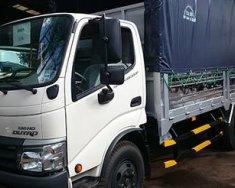 Bán trả góp xe tải HINO 6T4 thùng mui bạt mui kín , xe oto tải 6 tấn giá 150 triệu tại Cả nước