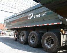 Nhà phân phối rơ mooc Doosung chính hang_ Rơ mooc ben 3 trục giá 600 triệu tại Tp.HCM