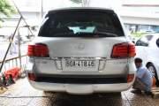 Cần bán Lexus LX đời 2008, màu bạc, nhập khẩu giá 2 tỷ 750 tr tại Tp.HCM