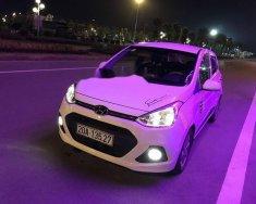 Bán xe Hyundai Grand i10 AT sản xuất 2015, màu trắng, nhập khẩu    giá 370 triệu tại Thái Nguyên