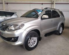 Cần bán gấp Toyota Fortuner năm sản xuất 2012, màu bạc, giá tốt giá 730 triệu tại Tp.HCM