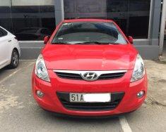 Bán Hyundai i20 sx 2010, màu đỏ, nhập khẩu, biển TP, giá TL, hỗ trợ góp giá 346 triệu tại Tp.HCM