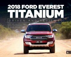 Bán xe Ford Everest Titanium 2.2L 4X2 AT 2018, xe đủ màu, nhập khẩu từ Thái, LH: 0918889278 để được tư vấn giá 1 tỷ 300 tr tại Tp.HCM