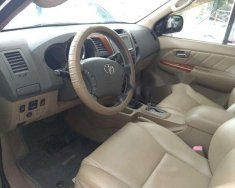 Cần bán lại xe Toyota Fortuner đời 2009, màu đen, giá tốt giá 500 triệu tại Hà Nội