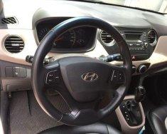 Cần bán gấp Hyundai Grand i10 1.0AT 2015, màu bạc, giá tốt giá 360 triệu tại Hà Nội