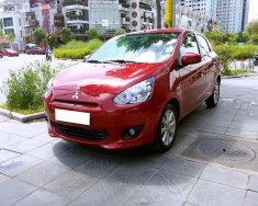 Bán Mitsubishi Mirage đời 2014, màu đỏ, nhập khẩu nguyên chiếc giá 390 triệu tại Hà Nội