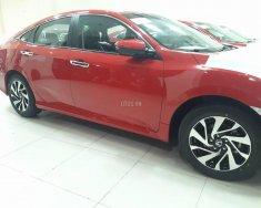 Bán xe Honda Civic 1.8E 2018, màu đỏ tại Quảng Bình. Xe có sẵn, giao ngay giá 763 triệu tại Quảng Bình