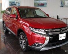 Bán Mitsubishi Outlander CVT sản xuất 2018, màu đỏ, hỗ trợ trả góp 80% giá trị xe tại Quảng Trị. Liên hệ 0911.821.514 giá 822 triệu tại Quảng Trị
