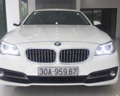 Bán BMW 5 Series 520i 2014, màu trắng, nhập khẩu giá 1 tỷ 460 tr tại Hà Nội