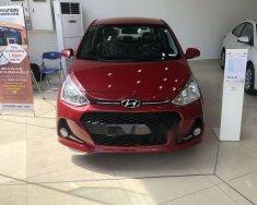 Cần bán lại xe Hyundai Grand i10 1.2L đời 2018, màu đỏ, 370 triệu giá 370 triệu tại Tp.HCM