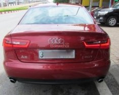Bán xe Audi A6 năm 2013, màu đỏ, nhập khẩu nguyên chiếc số tự động giá 1 tỷ 380 tr tại Hà Nội
