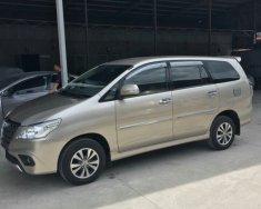 Bán Toyota Innova 2.0E, màu nâu vàng số sàn sản xuất 2016, biển tỉnh xe đẹp giá 638 triệu tại Tp.HCM