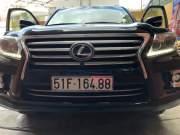 Bán xe Lexus LX đời 2014, màu đen, xe nhập giá 5 tỷ 100 tr tại Tp.HCM