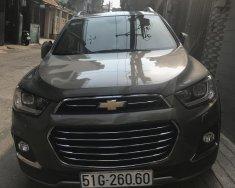 Bán Chevrolet Captiva đi 5000km, đăng ký đầu 2017 màu nâu, đã lắp dàn lạnh hàng thứ 3 giá 749 triệu tại Hà Nội
