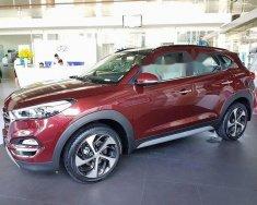 Bán Hyundai Tucson năm sản xuất 2018, màu đỏ   giá 760 triệu tại Đà Nẵng